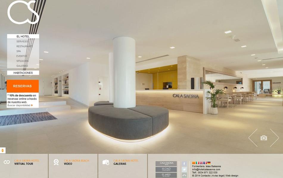 Hotel Cala Saona   Diseño web y publicidad Ibiza y Formentera ...